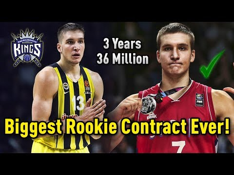 Meet Bogdan Bogdanovic: The Serbian Who Has Signed The BIGGEST Rookie Contract in History!
