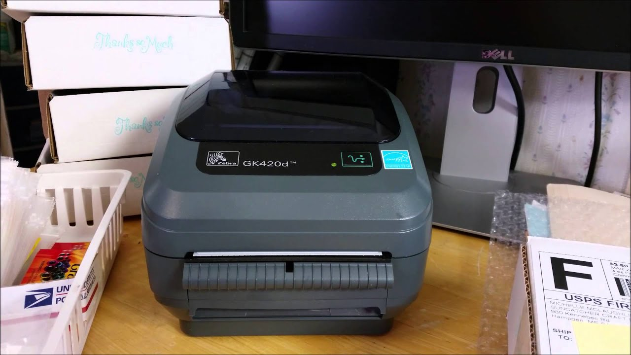 Zebra Thermal Printer for Amazon FBA Labels & Shipping Labels