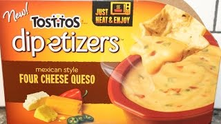 Tostitos Dip-etizers Mexican Style Four Cheese Queso Review