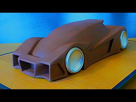 How i make a clay car model youtube.