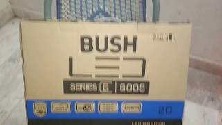 BUSH 20 INCH LED TV CUM HD MONITOR UNBOXING AND REVIEW