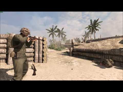 Rising Storm battle of Tarawa (Betio)