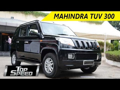 Mahindra TUV 300 Car Review - Top Speed | Wheelspin