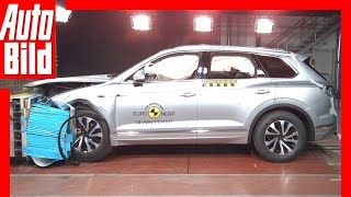 Crashtest VW Touareg (2018) Details
