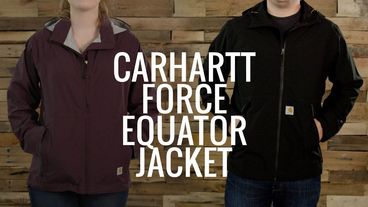 978ff7084eb0 Carhartt Force Equator Jacket - YouTube