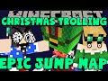 MINECRAFT EPIC JUMP MAP: Christmas Trolling! (#2) Mildly Peturbed