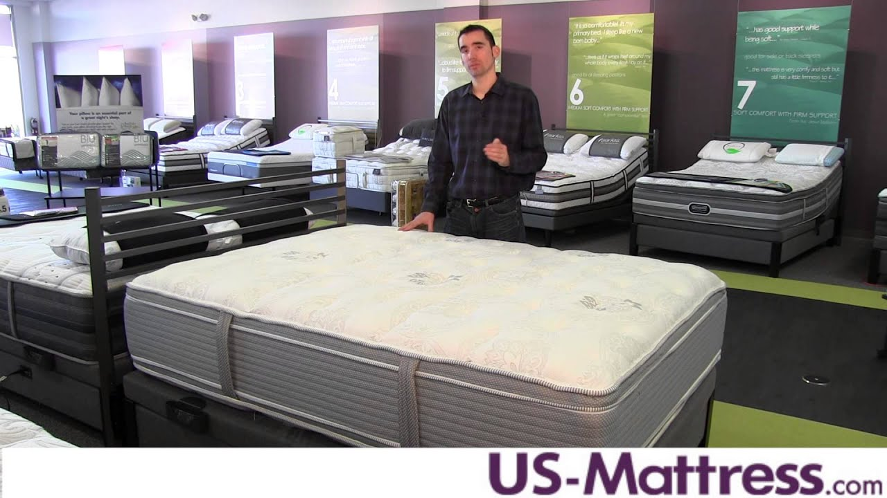restonic comfort care select hampton pillow top mattress