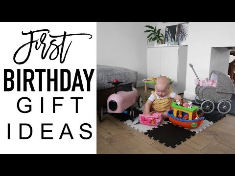 FIRST BIRTHDAY GIFT IDEAS | First Birthday Gift Haul