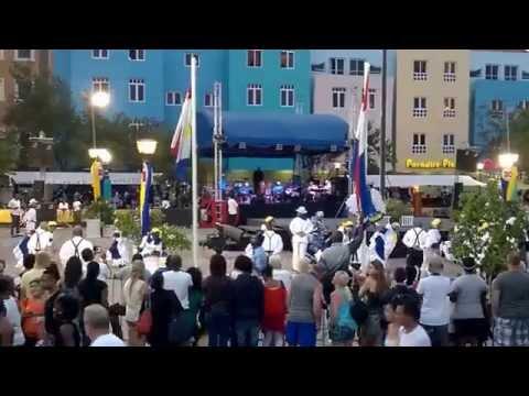 Curaçao - Dia di Bandera 2014 - Flag down