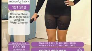 Repeat youtube video Sexy BBW model on TV