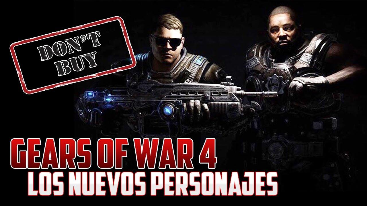 Gears Of War 4 Nuevos Personajes NO LOS COMPRES