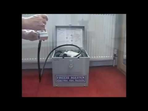 Plumbers Pipe Freezing Machines From Freeze Master