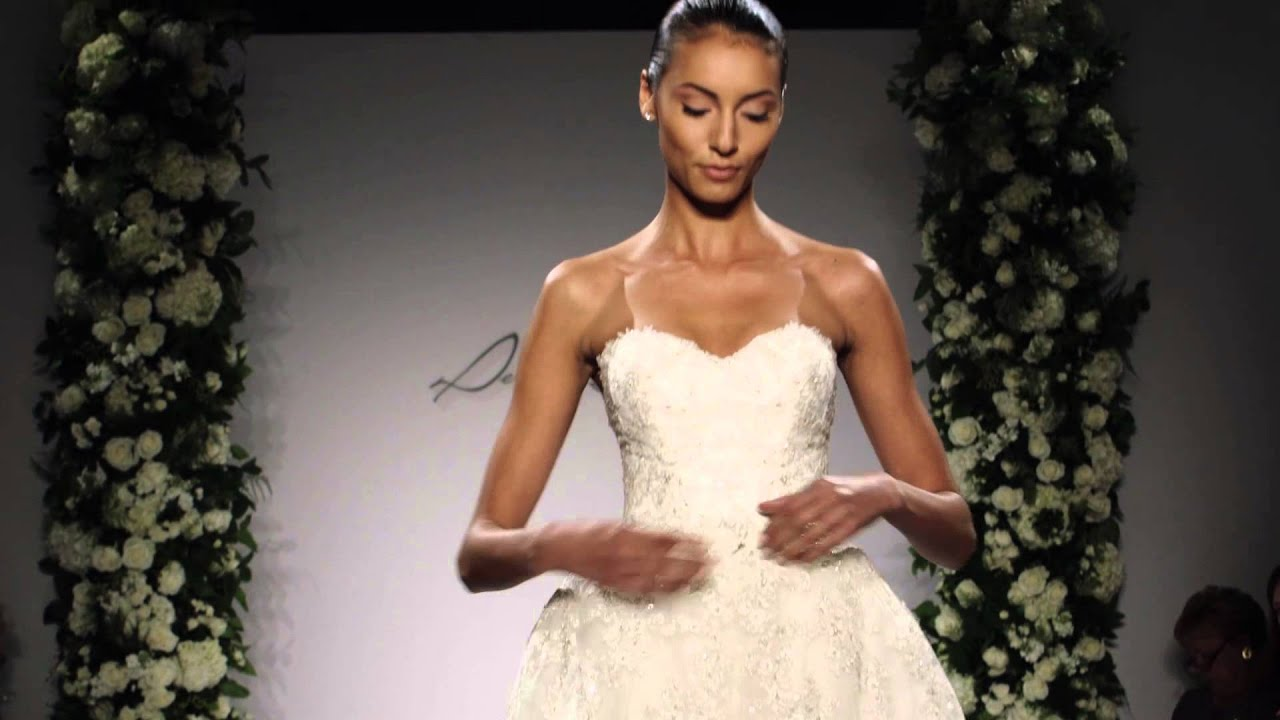 Dennis Basso 2015 Bridal Runway Show at Kleinfeld - YouTube