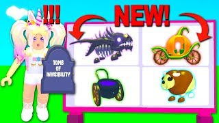 Buying ALL NEW LEGENDARY HALLOWEEN Items In Adopt Me! *NEW UPDATE* (Roblox)