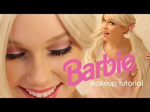 barbie makeup tutorial easy and cute doll halloween costume - Halloween Costume Barbie