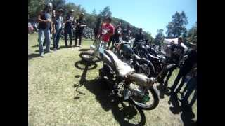 radical 300cc rotary engine motorcycle at the born free bike show
