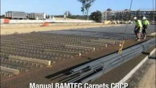 500plus® Bamtec® Civil Concrete Paving Crcp