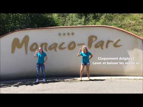 DANSE DU CAMPING Monaco Parc - Despacito (ETE 2017)