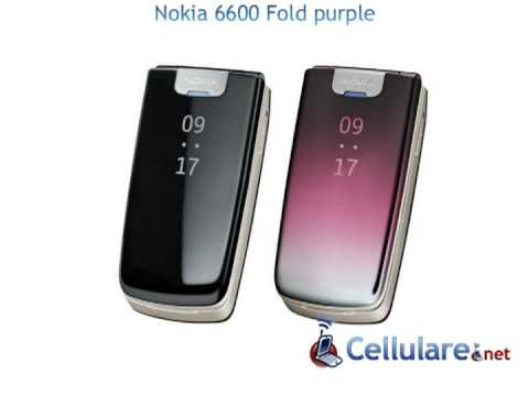 Nokia 6600 Fold purple