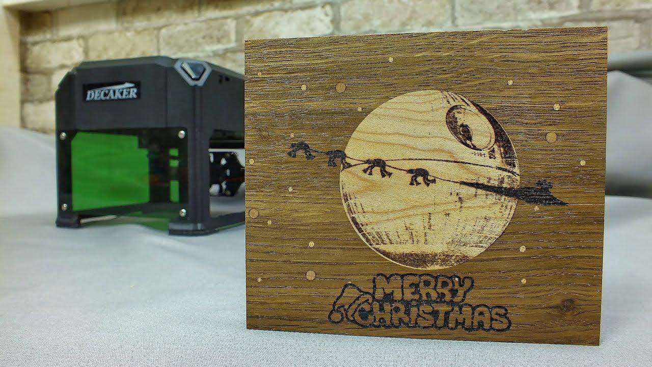 """""""Звездные войны"""" и лазерный гравер Decaker. Новогодний подарок"""