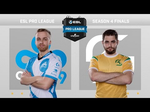 CS:GO - Cloud9 vs. SK [Overpass] Map 1 - Grand Final - ESL Pro League Season 4