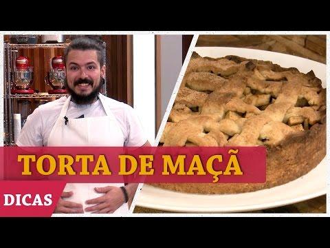 TORTA DE MAÇÃ COM MASSA PODRE Do Aluísio | DICAS MASTERCHEF