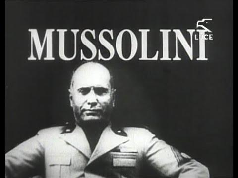 01 - Ascesa e caduta di Mussolini