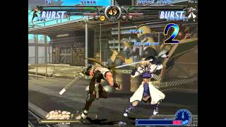 Guilty Gear XX Reloaded Gameplay PC