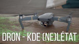 Kde (ne)můžete létat s dronem? BONUS k videu o DJI Mavic Pro