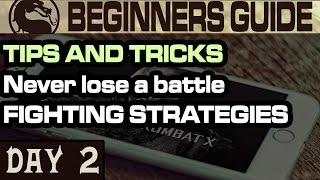 MKX Mobile Tips and Tricks. Fighting Strategies that lead to VICTORY.