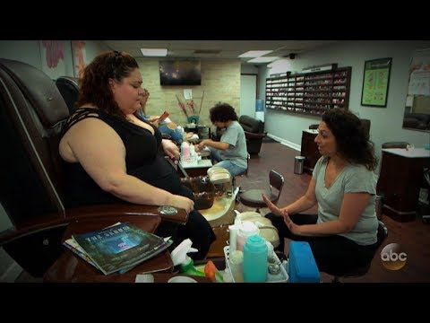 Overweight woman body-shamed, charged extra during pedicure | What Would You Do? | WWYD