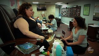 Overweight woman body-shamed, charged extra during pedicure | What Would You Do? | WWYD thumbnail