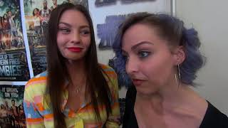 Attack Of The Southern Friend Zombies Actress Megan Few & Kaitlin Mesh