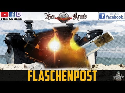 Flaschenpost - Z39 ~ Franz v. Jütland ~ Ingame Patch 0.7.5 #WorldofWarships #SeaKrauts