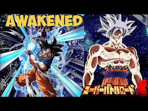 Mastered Ultra Instinct Goku Awakens! Super Int vs Super Battle Road: DBZ Dokkan Battle