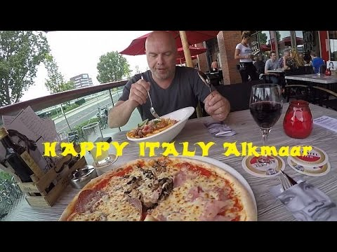 Trip to HAPPY ITALY Alkmaar the Netherlands 11-06-2016 vlog 136