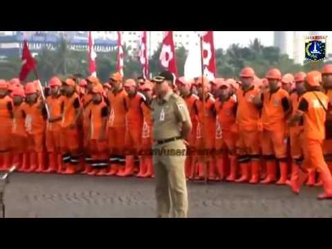 AHOK berapi api membakar semangat PPSU demi Jakarta Baru