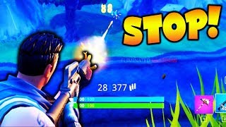 I HAVE TO STOP THIS...... (Fortnite Battle Royale)