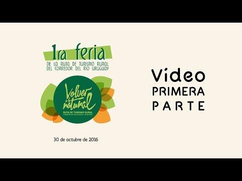 1° Parte del video:Feria de turismo rural del corredor del rio Uruguay