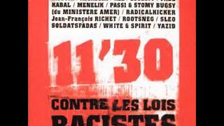 1997 11'30 CONTRE LES LOIS RACISTES ASSASSIN AKHENATHON FABE MYSTIK ROOTSNEG PASSI & CIE