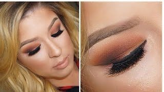 Fall Makeup: Orange I Brown Smokey Eye Thumbnail