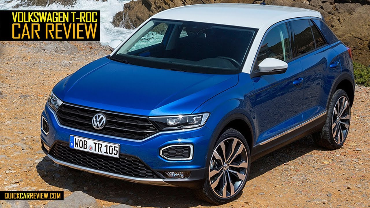 car review 2018 volkswagen t roc test drive youtube. Black Bedroom Furniture Sets. Home Design Ideas