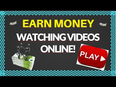 watch video and earn money how to earn money by watching youtube videos online 2017 5658