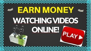 How To Earn Money By Watching YouTube Videos Online 2017