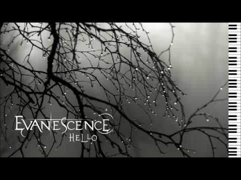 Evanescence - Hello - Piano Instrumental