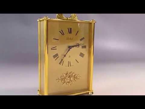 Vintage Swiss Musical Alarm Clock