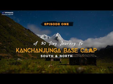 A 30 Day Journey To KANCHANJUNGA Base Camp - Episode One OKTANG Base Camp