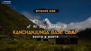 A 30 Day Journey to KANCHANJUNGA Base Camp  Episode One OKTANG Base Camp