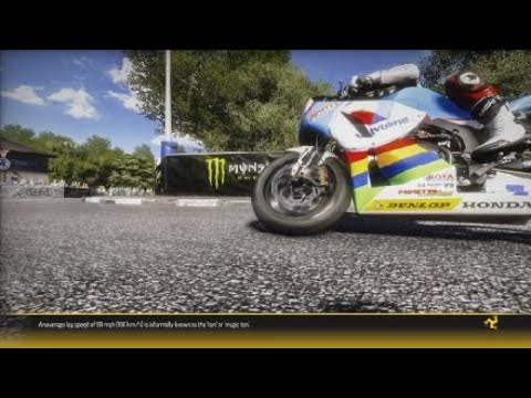TT Isle of Man - Ride on the Edge clean lap