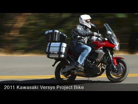 MotoUSA 2011 Kawasaki Versys Project Bike - YouTube